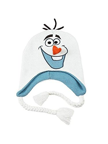 Frozen - Olaf Big Face Peruvian Knit Hat