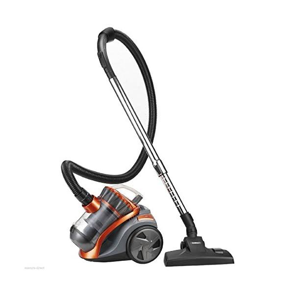 1200W 2L Orange/Grey Bagless Compact Cylinder Hoover Vac Vacuum Cleaner-3 Years FREE Guarantee!