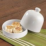RSVP Stoneware Garlic Roaster