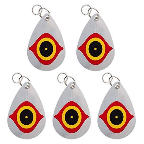 (Cainda Bird Repellent Horrible Predator Eye, Birds Deterrent Hanging Devices Scare Birds Away from Your Barns Garden Windows Warehouse (5 Pack))