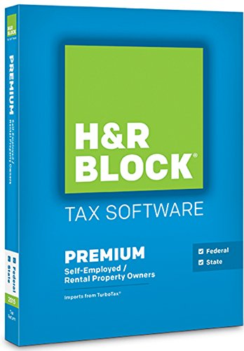 H&R Block Tax Software Premium 2015 Federal & State by H&R Block