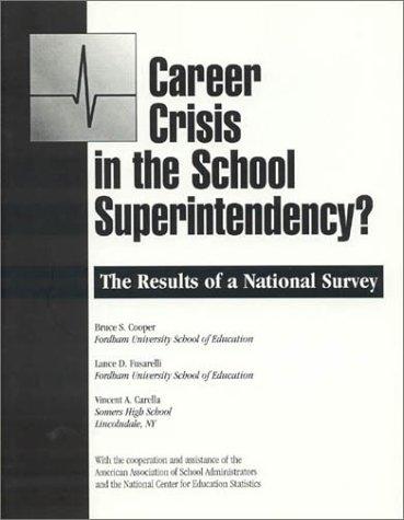 Career Crisis in the Superintendency