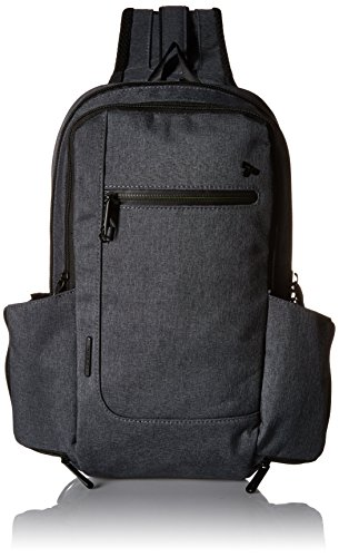 Travelon Anti-Theft Urban Sling Bag, Slate ()