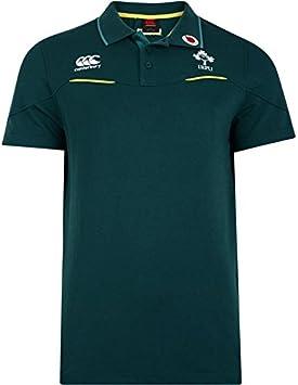 Irlanda r.f.c. formación Polo Camisa de algodón de los Hombres ... 33f5da98e5c26