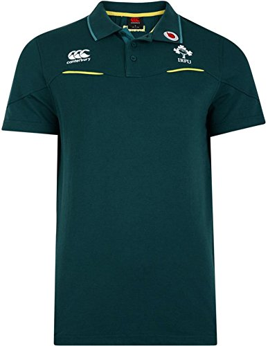 Irlanda r.f.c. formación Polo Camisa de algodón de los Hombres ...