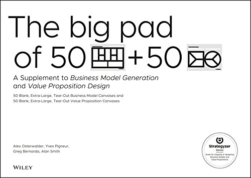 The Big Pad of 50 Blank, Extra–Large Business Model Canvases and 50 Blank, Extra–Large Value Proposition Canvases: A Supplement to Business Model Generation and Value Proposition Design