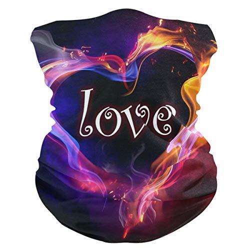 Valentine's Day Love Customized Outdoor Magic Headband Multifunctional Elastic Seamless BandanScarf UV Resistence Sport Headwear