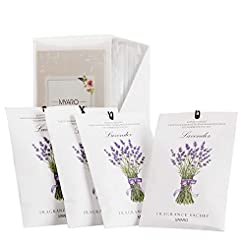 MYARO 12 Packs Lavender Scented Sachets ...
