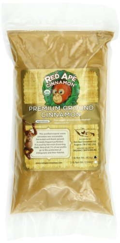 Red Ape Cinnamon Premium Organic Ground Cinnamon, 1 Pound