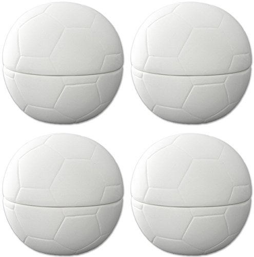Ball Soccer Camp (Soccer Ball Box - Set of 4 - Host Your Own Ceramic Painting Party)