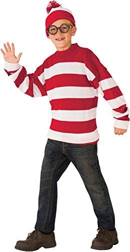 Rubie's Deluxe Child's Where's Waldo Costume, Small