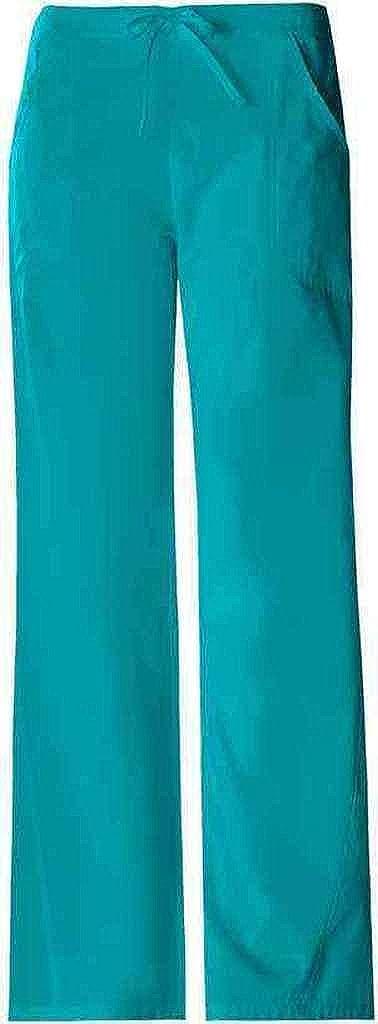 f3397fe48b9 Amazon.com: Cherokee 1072 Women's Pro-Flexibles Drawstring Scrub Pant Teal  Blue XX-Large: Medical Scrubs Pants: Clothing