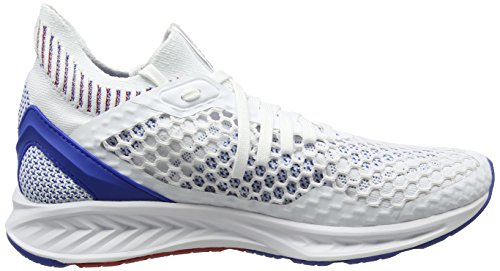 Blanc D'extrieur Baskets Netfit Homme Blue lapis toreador Pour Puma Ignite white qRYR1t