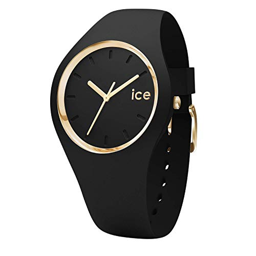 Ice-Watch – ICE glam Black – Women's wristwatch with silicon strap