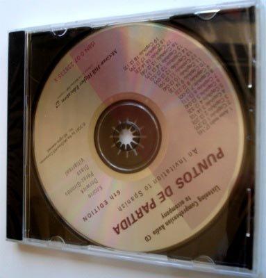 Listening Comprehension Audio CD to accompany Puntos de partida
