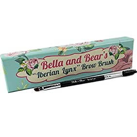 Eyebrow Brush By Bella & Bear. Our Spoolie Is The Perfect 2 In 1 Angled Brow Brush Duo For Your Eyebrows And Lashes.