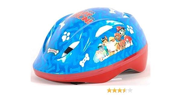 Paw Patrol Kids Casco Deluxe para Patines de Bicicleta, Infantil, Azul: Amazon.es: Deportes y aire libre