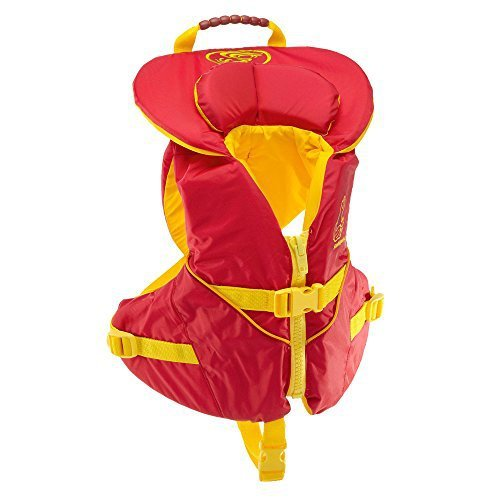 Stohlquist Unisex Infant/Toddler Nemo Infant Life Jacket/Personal Floatation Device (Red/Yellow, Less Than 30-Pound)