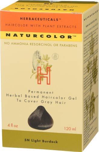 Naturcolor 5N Light Burdock Hair Dyes, 4 Ounce by naturcolor