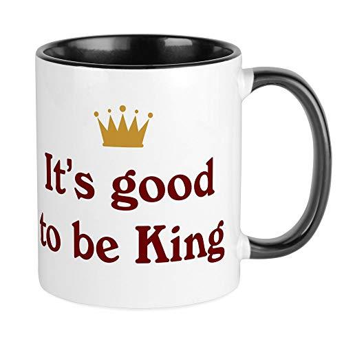 (CafePress - It's Good To Be King Mug - Unique Coffee Mug, Coffee Cup)