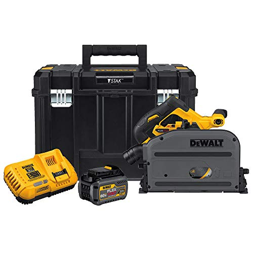DEWALT DCS520T1 60V MAX 6-1/2 inch (165mm) Cordless TrackSaw Kit