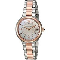 Frederique Constant Women's 'Horological Smart Watch' Swiss Quartz Stainless Steel Casual, Color:Two Tone (Model: FC-281WH3ER2B)