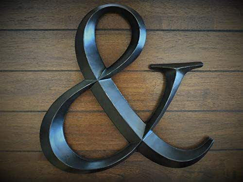 Amazon.com: Large Ampersand Letter for Hanging on Wall ...