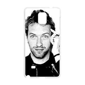 Coldplay Samsung Galaxy Note 4 Cell Phone Case White 218y-798061