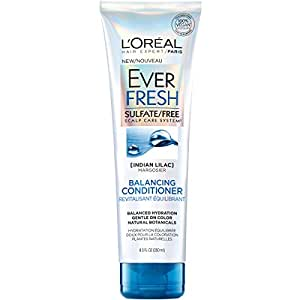 EverFresh Conditioner. Vegan.  Sulfate-free, paraben-free, silicone-free, free of harsh salts.  With Indian Lilac, Neem Oil extract.