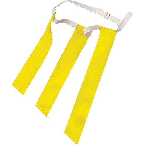 (Champro Triple Threat Flag Belt (Yellow))