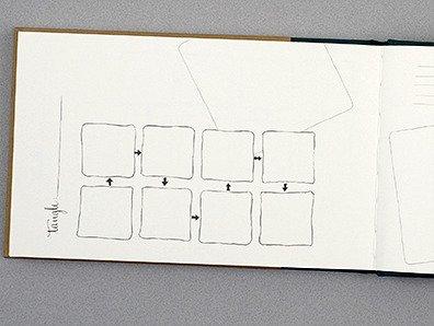 Zentangle Journal - Pre Strung