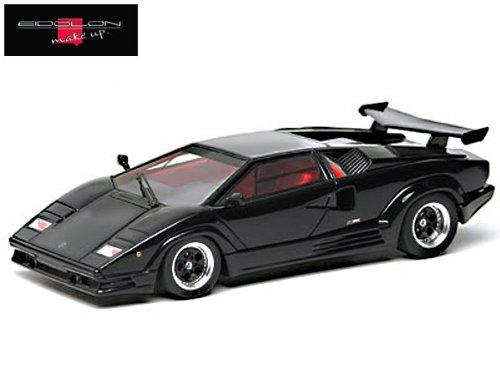 1/43 ランボルギーニ カウンタック 25th アニバーサリー 1988 ブラック EM219D