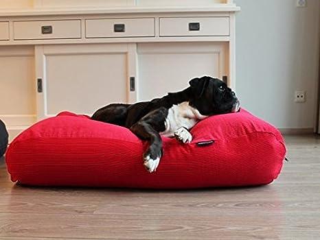 Dogs Companion - Cama para Perro, Color Rojo
