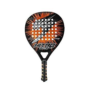 Slazenger Nitro Elite - Pala, Color Negro/Naranja, 38 mm: Amazon.es: Deportes y aire libre