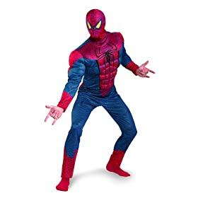 The Amazing Spider-Man 3D Movie Classic Muscle Adult Costume 416PCEJPjlL