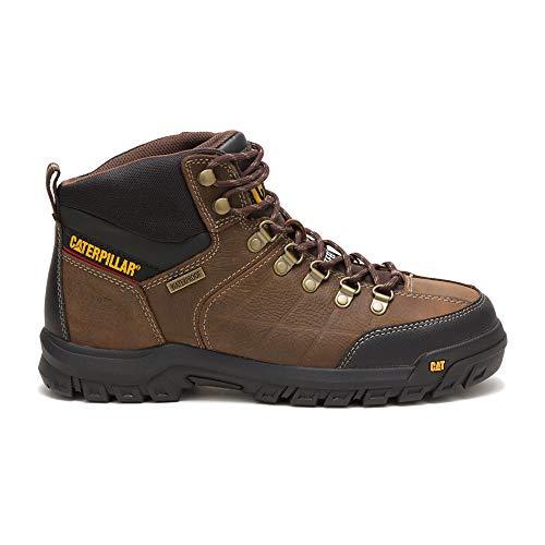 Caterpillar Men's Threshold Waterproof Steel Toe Industrial Boot, Brown, 10.5 M US