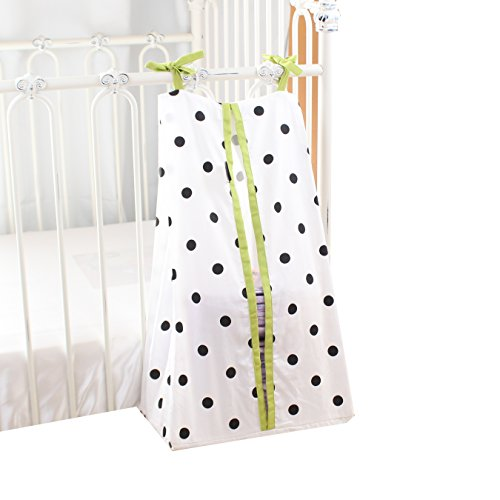 Onyx Dots and Citron Edge Diaper Stacker Inventory Clearance Sale
