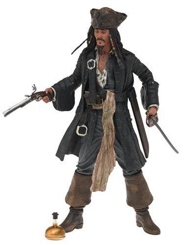 Capt Jack Sparrow - Pirates of the Caribbean - The Curse of the Black Pearl - Series 1 -