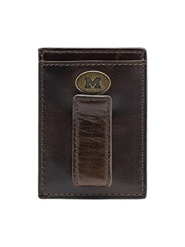 Michigan Wolverines Mens Leather - 5