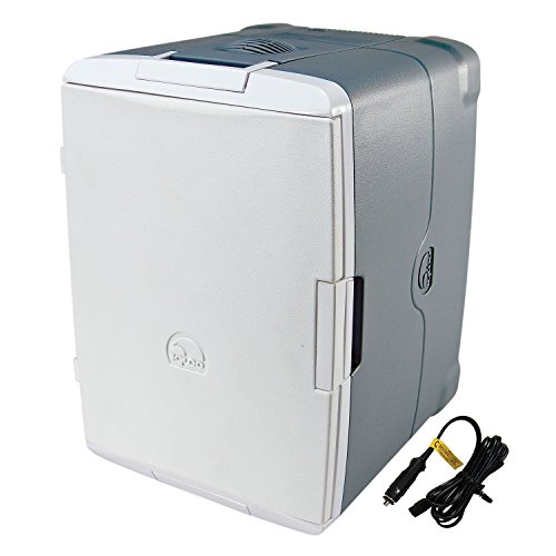 Igloo 40375 Iceless 40-Quart with 110-volt Converter Coolers, Silver