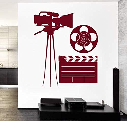 Movie Making Hollywod Camera Actress Cool Amazing Decor Wall Decals Decor Vinyl Sticker SK9769