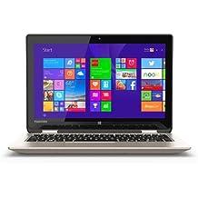 "Toshiba Radius 2-in-1 11.6"" Touch-screen Laptop - Intel Celeron Processor N2840 / 4GB Memory / 500GB HD/ Webcam / Windows 8.1 64-bit -Satin Gold"