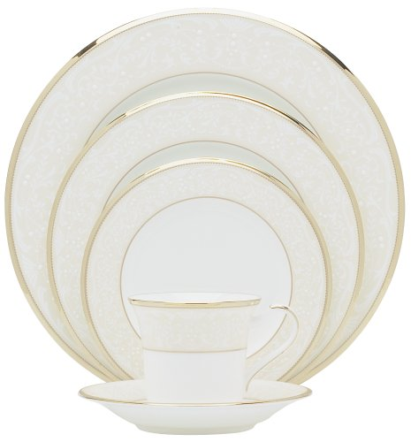 Noritake White Palace 20-Piece Dinnerware Place Setting, Service for 4