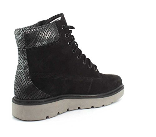 Timberland A1kez Nero Lace Kenniston Donne Nubuck 6 up Pollici Avvio wPraw7WgqO