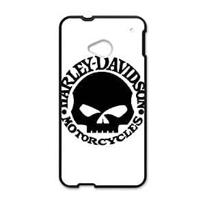 Harley Davidson HTC One M7 Cell Phone Case Black SH6067423