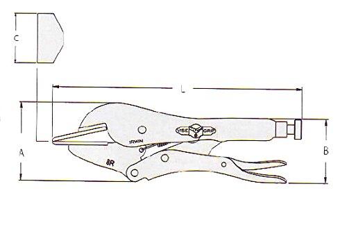 IRWIN VISE-GRIP Original Locking Sheet Metal Tool, 8'', 23 by Irwin Tools (Image #3)