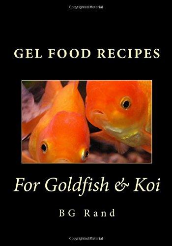 Gel Food Recipes for Goldfish & Koi