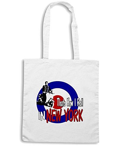 T-Shirtshock - Bolsa para la compra OLDENG00197 newyorkcolor Blanco