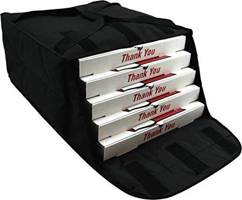 Insulated Nylon Black Pizza Delivery Bag 20