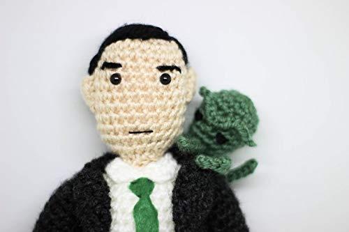 H.P Lovecraft doll horror plush Cthulhu